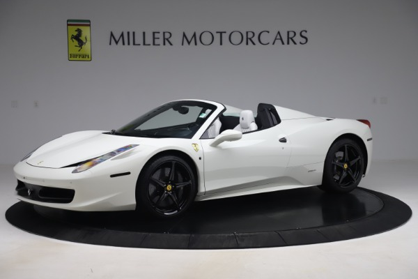 Used 2015 Ferrari 458 Spider for sale Call for price at Maserati of Westport in Westport CT 06880 2
