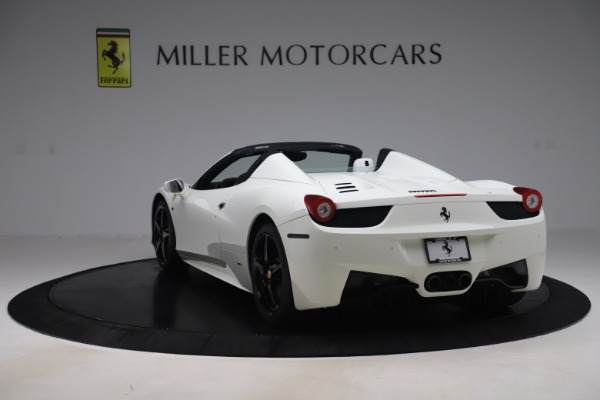 Used 2015 Ferrari 458 Spider for sale Call for price at Maserati of Westport in Westport CT 06880 5