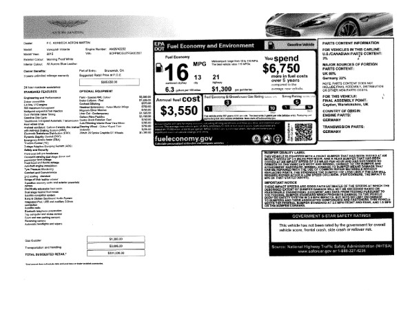 Used 2015 Aston Martin Vanquish Convertible for sale Sold at Maserati of Westport in Westport CT 06880 27