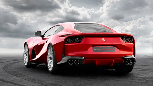 New 2021 Ferrari 812 Superfast for sale Call for price at Maserati of Westport in Westport CT 06880 3
