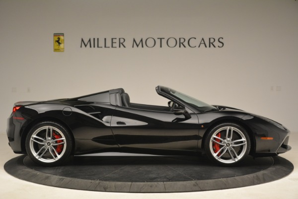 Used 2018 Ferrari 488 Spider for sale Sold at Maserati of Westport in Westport CT 06880 9
