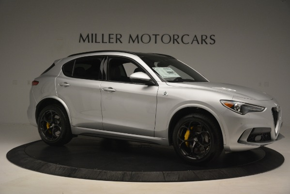 New 2019 Alfa Romeo Stelvio Quadrifoglio for sale $86,440 at Maserati of Westport in Westport CT 06880 10