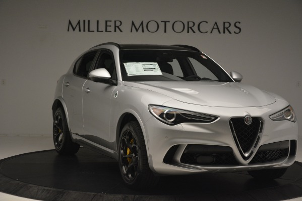 New 2019 Alfa Romeo Stelvio Quadrifoglio for sale $86,440 at Maserati of Westport in Westport CT 06880 11