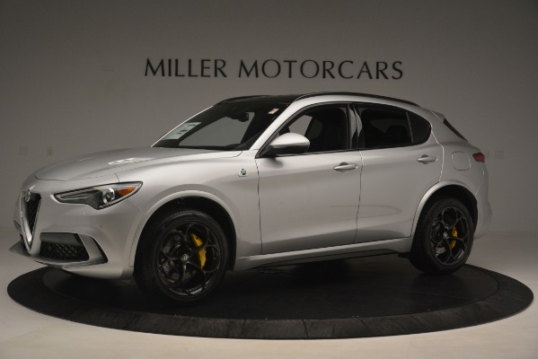 New 2019 Alfa Romeo Stelvio Quadrifoglio for sale $86,440 at Maserati of Westport in Westport CT 06880 2