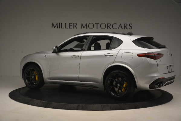 New 2019 Alfa Romeo Stelvio Quadrifoglio for sale $86,440 at Maserati of Westport in Westport CT 06880 4