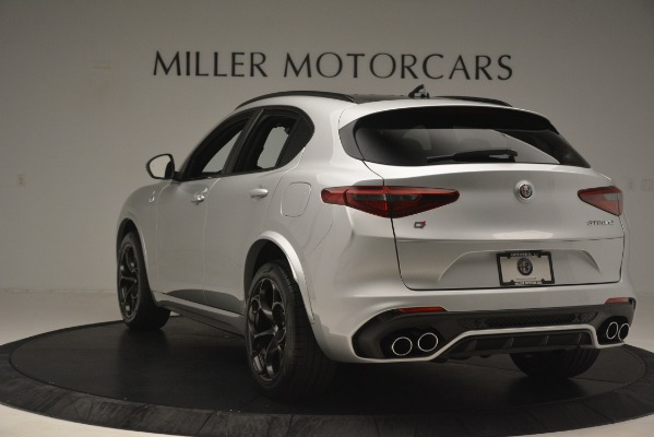 New 2019 Alfa Romeo Stelvio Quadrifoglio for sale $86,440 at Maserati of Westport in Westport CT 06880 5