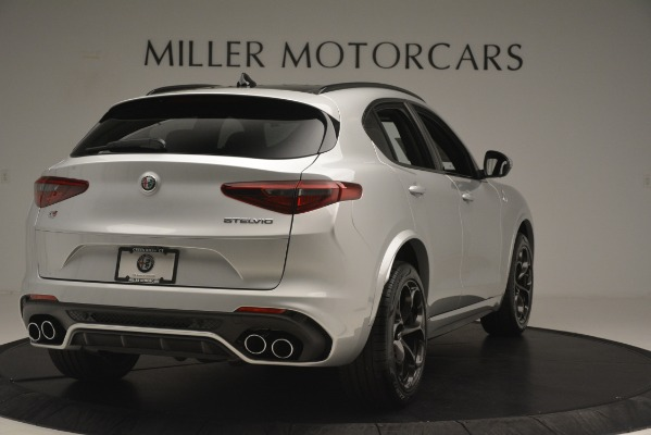 New 2019 Alfa Romeo Stelvio Quadrifoglio for sale $86,440 at Maserati of Westport in Westport CT 06880 7