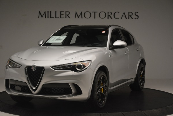 New 2019 Alfa Romeo Stelvio Quadrifoglio for sale $86,440 at Maserati of Westport in Westport CT 06880 1