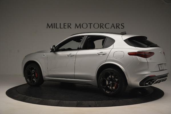 New 2019 Alfa Romeo Stelvio Quadrifoglio for sale Sold at Maserati of Westport in Westport CT 06880 4