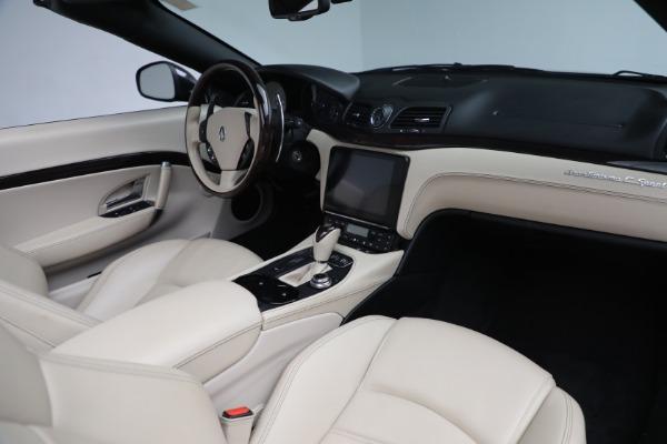 New 2019 Maserati GranTurismo Sport Convertible for sale Sold at Maserati of Westport in Westport CT 06880 22