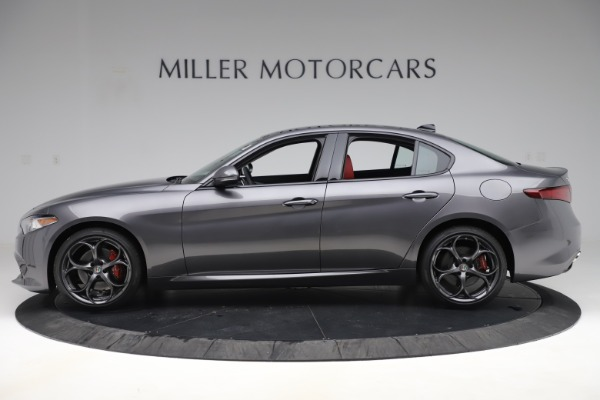 New 2019 Alfa Romeo Giulia Ti Sport Q4 for sale $52,340 at Maserati of Westport in Westport CT 06880 3