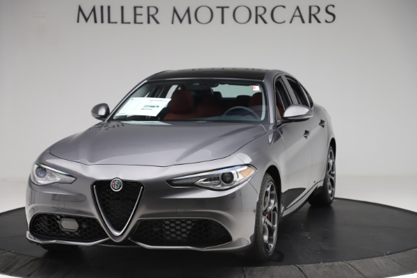 New 2019 Alfa Romeo Giulia Ti Sport Q4 for sale $52,340 at Maserati of Westport in Westport CT 06880 1