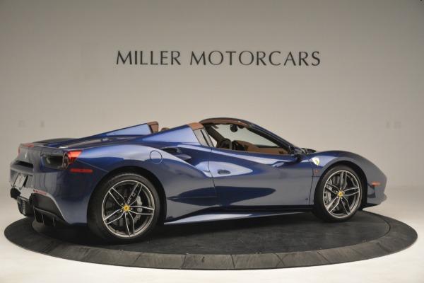 Used 2018 Ferrari 488 Spider for sale Sold at Maserati of Westport in Westport CT 06880 8
