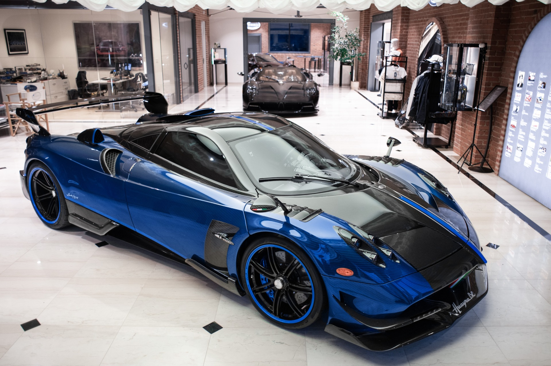 Used 2017 Pagani Huayra BC Macchina Volante for sale Call for price at Maserati of Westport in Westport CT 06880 1