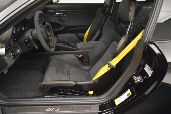 Used 2018 Porsche 911 GT3 for sale Sold at Maserati of Westport in Westport CT 06880 14
