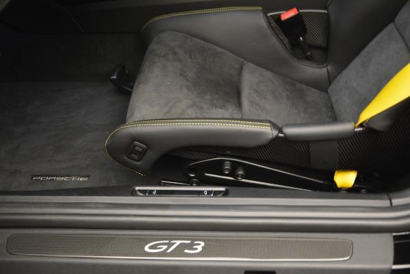 Used 2018 Porsche 911 GT3 for sale Sold at Maserati of Westport in Westport CT 06880 16