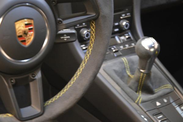 Used 2018 Porsche 911 GT3 for sale Sold at Maserati of Westport in Westport CT 06880 22