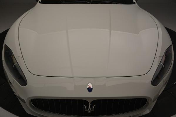 Used 2011 Maserati GranTurismo S Automatic for sale Sold at Maserati of Westport in Westport CT 06880 24