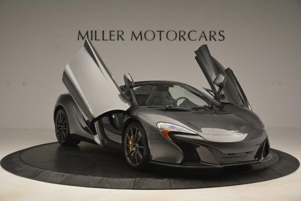 Used 2016 McLaren 650S Spider Convertible for sale Sold at Maserati of Westport in Westport CT 06880 12