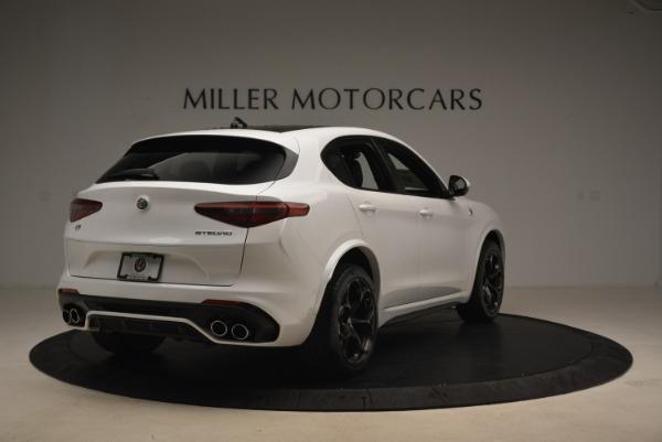 New 2019 Alfa Romeo Stelvio Quadrifoglio for sale Sold at Maserati of Westport in Westport CT 06880 7