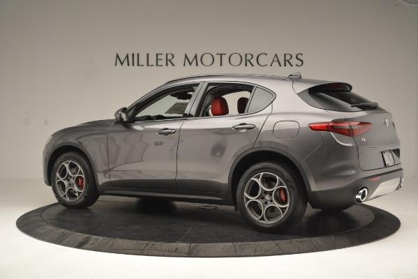 New 2019 Alfa Romeo Stelvio Sport Q4 for sale Sold at Maserati of Westport in Westport CT 06880 4