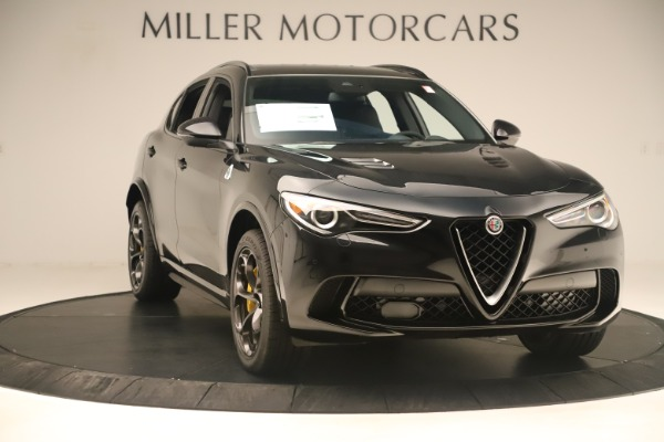New 2019 Alfa Romeo Stelvio Quadrifoglio for sale $86,790 at Maserati of Westport in Westport CT 06880 11