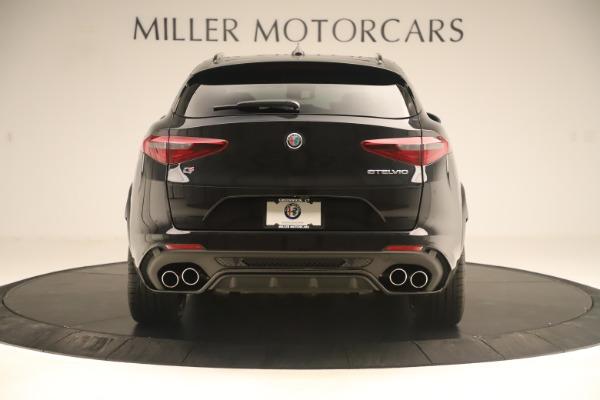 New 2019 Alfa Romeo Stelvio Quadrifoglio for sale $86,790 at Maserati of Westport in Westport CT 06880 6