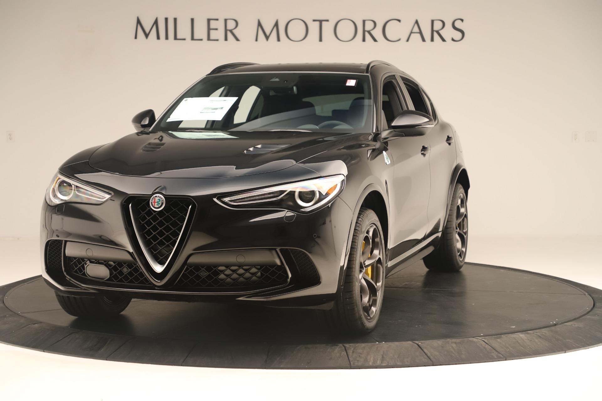 New 2019 Alfa Romeo Stelvio Quadrifoglio for sale $86,790 at Maserati of Westport in Westport CT 06880 1