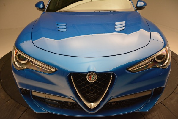 New 2019 Alfa Romeo Stelvio Quadrifoglio for sale Sold at Maserati of Westport in Westport CT 06880 27
