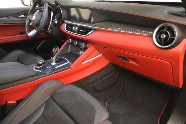 New 2019 Alfa Romeo Stelvio Quadrifoglio for sale Sold at Maserati of Westport in Westport CT 06880 19