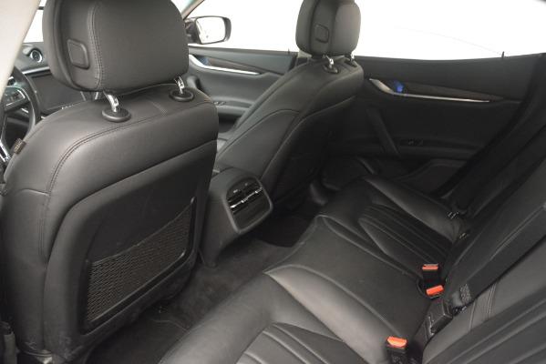 Used 2015 Maserati Ghibli S Q4 for sale Sold at Maserati of Westport in Westport CT 06880 24