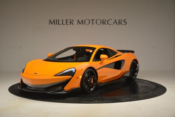 New 2020 McLaren 600LT Spider Convertible for sale Sold at Maserati of Westport in Westport CT 06880 15