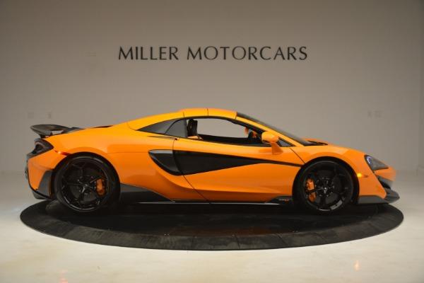 New 2020 McLaren 600LT Spider Convertible for sale Sold at Maserati of Westport in Westport CT 06880 20