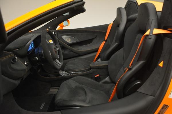 New 2020 McLaren 600LT Spider Convertible for sale Sold at Maserati of Westport in Westport CT 06880 25