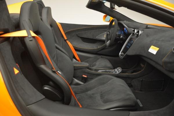 New 2020 McLaren 600LT Spider Convertible for sale Sold at Maserati of Westport in Westport CT 06880 28
