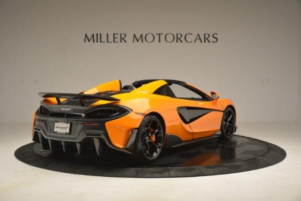 New 2020 McLaren 600LT Spider Convertible for sale Sold at Maserati of Westport in Westport CT 06880 7