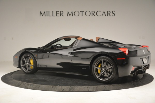 Used 2013 Ferrari 458 Spider for sale Sold at Maserati of Westport in Westport CT 06880 4