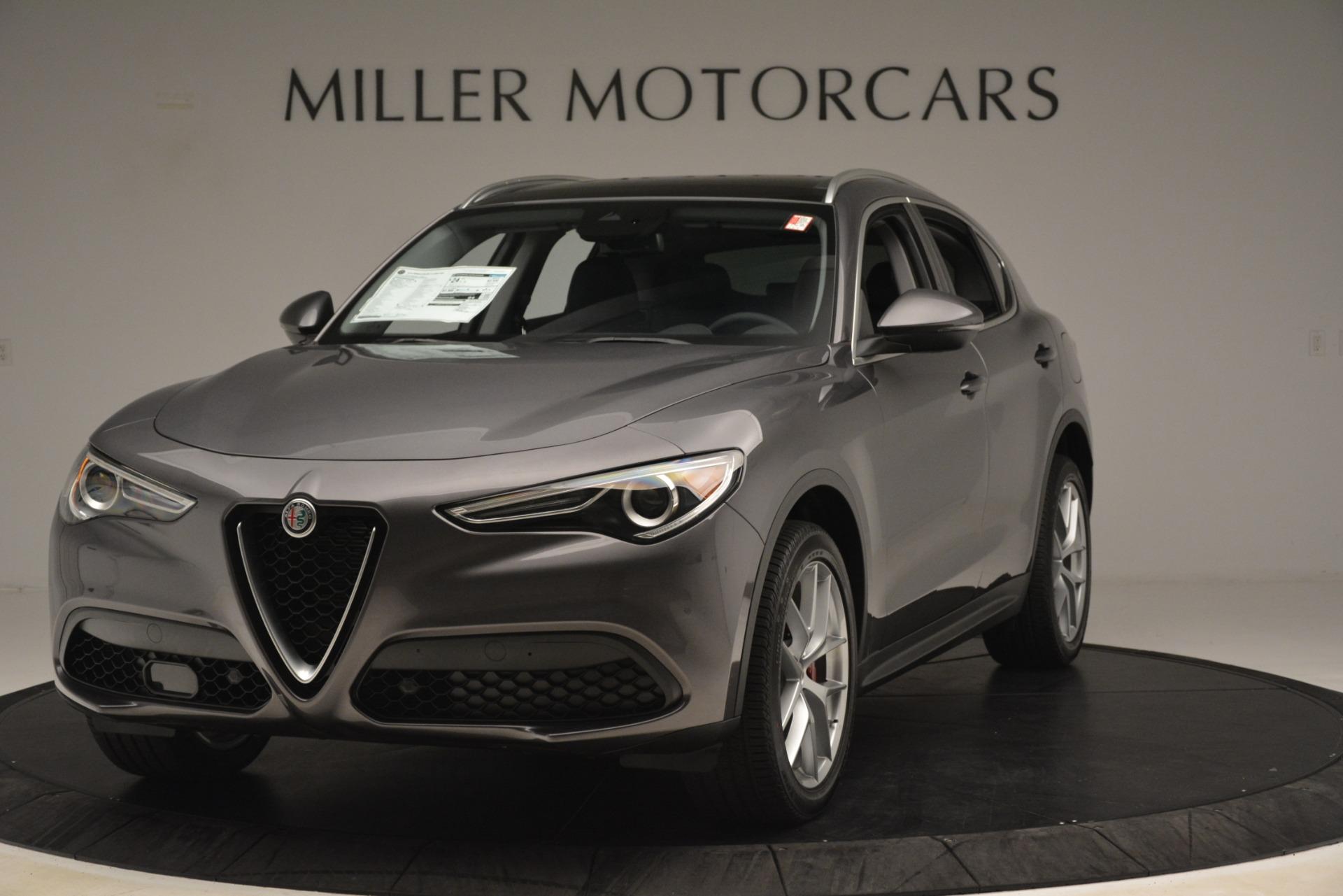 New 2019 Alfa Romeo Stelvio Ti Lusso Q4 for sale Sold at Maserati of Westport in Westport CT 06880 1
