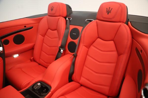 New 2018 Maserati GranTurismo Sport Convertible for sale Sold at Maserati of Westport in Westport CT 06880 24