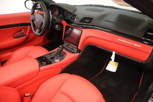 New 2018 Maserati GranTurismo Sport Convertible for sale Sold at Maserati of Westport in Westport CT 06880 26