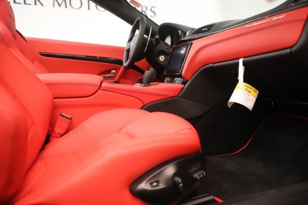 New 2018 Maserati GranTurismo Sport Convertible for sale Sold at Maserati of Westport in Westport CT 06880 27