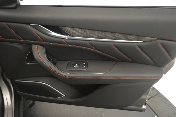 New 2019 Maserati Levante SQ4 GranSport Nerissimo for sale Sold at Maserati of Westport in Westport CT 06880 25