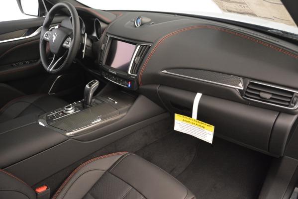 New 2019 Maserati Levante S Q4 GranSport for sale $104,540 at Maserati of Westport in Westport CT 06880 21