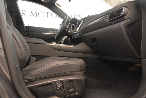 New 2019 Maserati Levante S Q4 GranSport for sale $104,840 at Maserati of Westport in Westport CT 06880 23