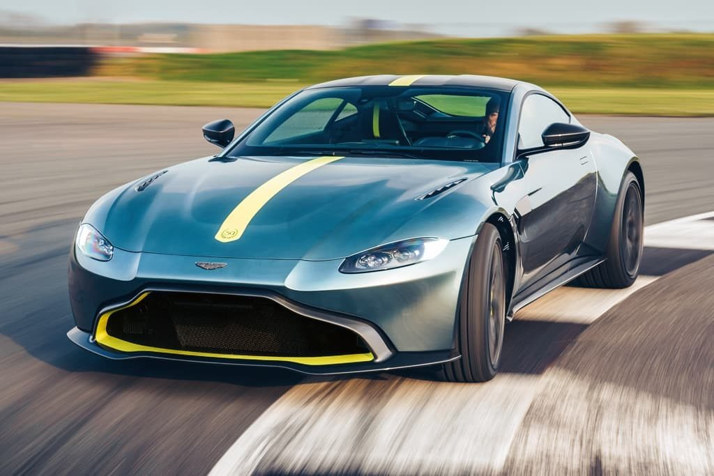 New 2020 Aston Martin Vantage AMR Coupe for sale Sold at Maserati of Westport in Westport CT 06880 1