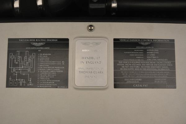 Used 2004 Aston Martin V12 Vanquish for sale Sold at Maserati of Westport in Westport CT 06880 18