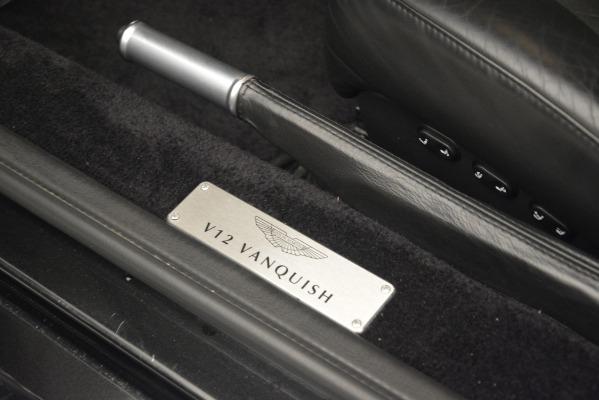 Used 2004 Aston Martin V12 Vanquish for sale Sold at Maserati of Westport in Westport CT 06880 19