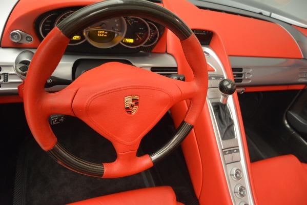 Used 2005 Porsche Carrera GT for sale Sold at Maserati of Westport in Westport CT 06880 27