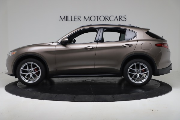 New 2019 Alfa Romeo Stelvio Ti Sport Q4 for sale Sold at Maserati of Westport in Westport CT 06880 3