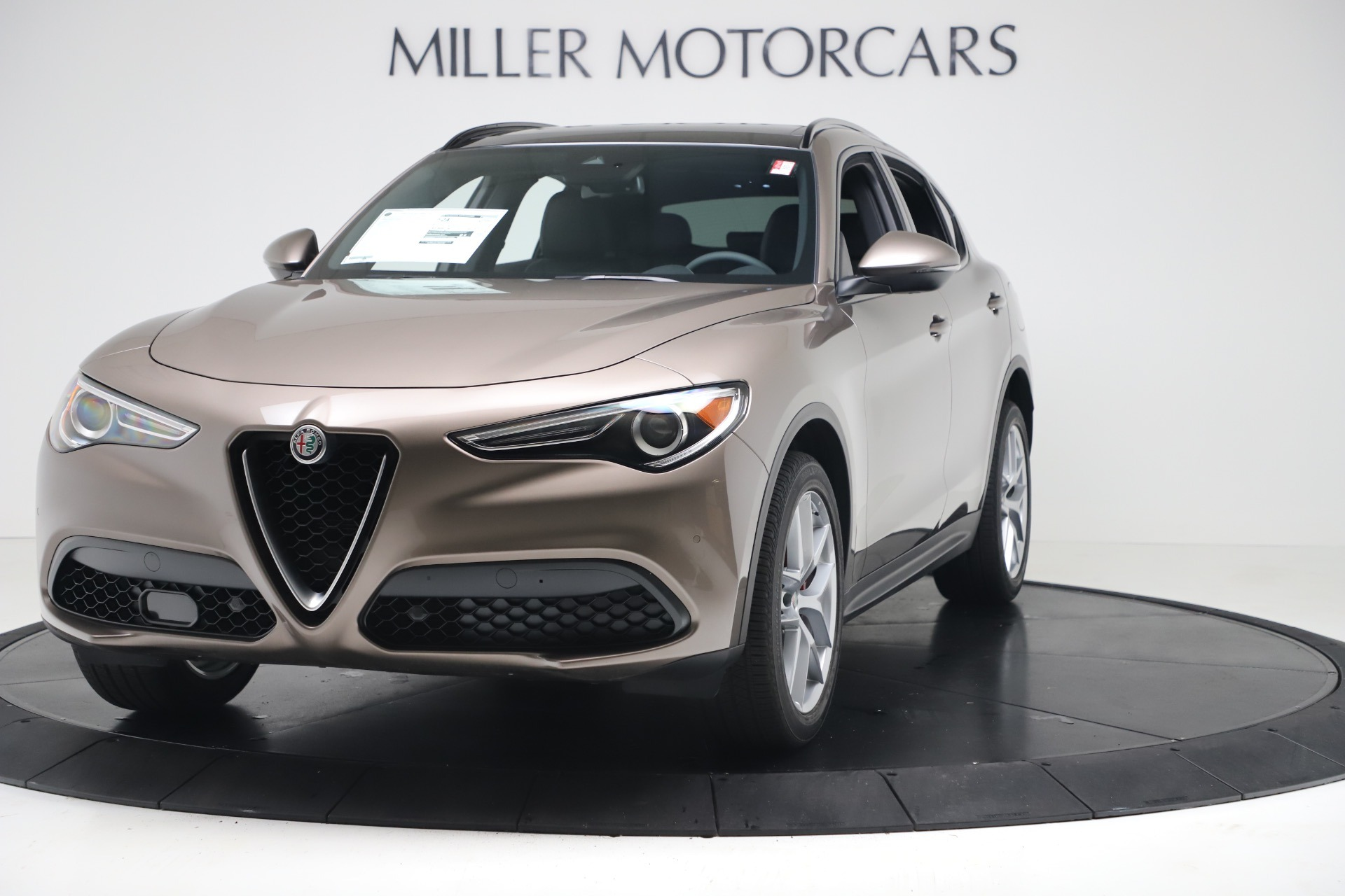 New 2019 Alfa Romeo Stelvio Ti Sport Q4 for sale Sold at Maserati of Westport in Westport CT 06880 1